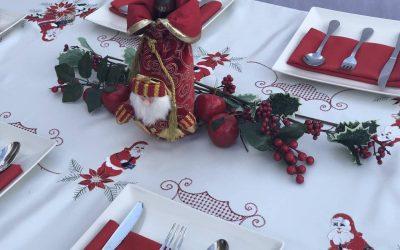 Mantel antimancha Navidad
